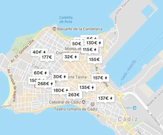 Alojamientos Cadiz Airbnb