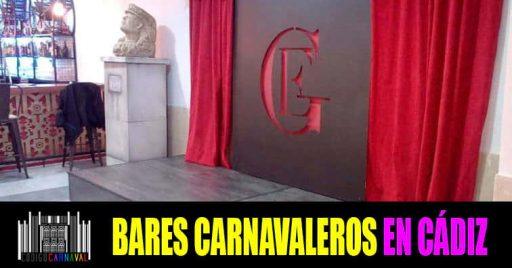 Bares Carnavaleros en Cadiz