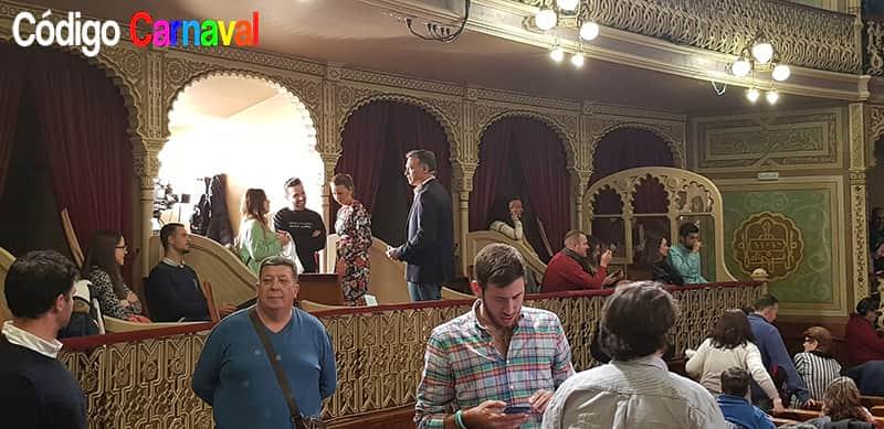 Palco Platea Teatro Falla