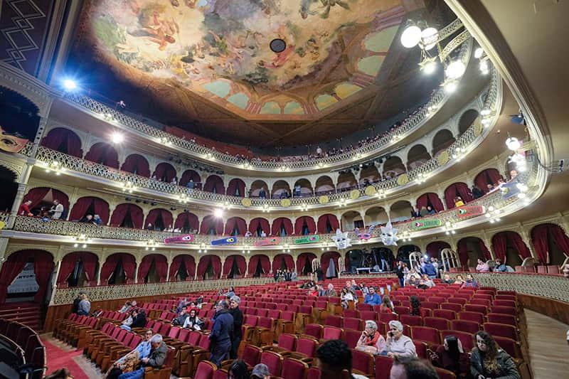 Patio de butacas Teatro Falla