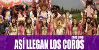 Asi llegan los coros al COAC 2020