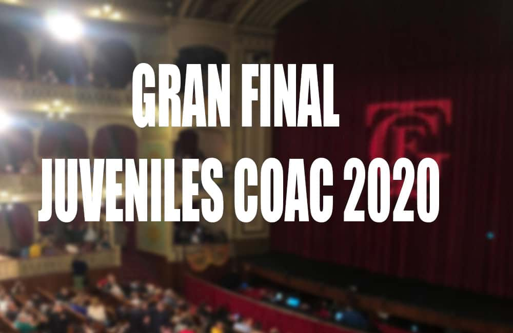 Final Juveniles COAC 2020 - Orden de actuacion