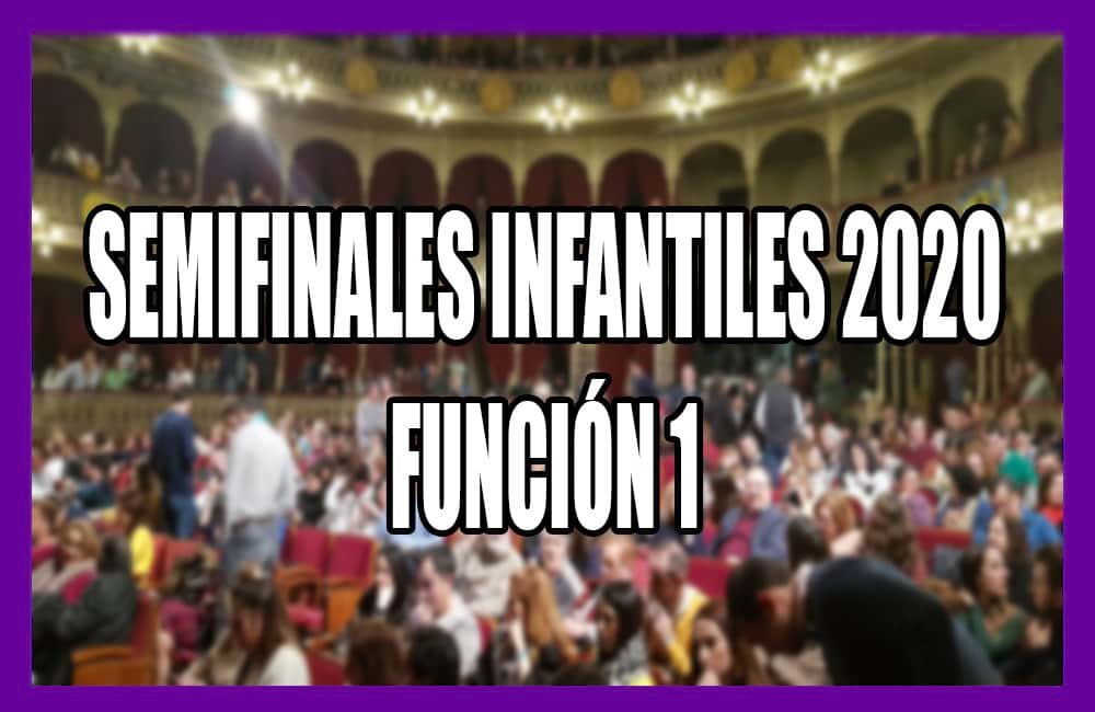 Semifinales Infantiles 2020 Funcion 1