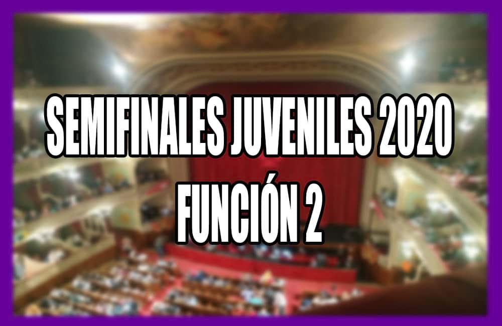 Semifinales Juveniles Función 2