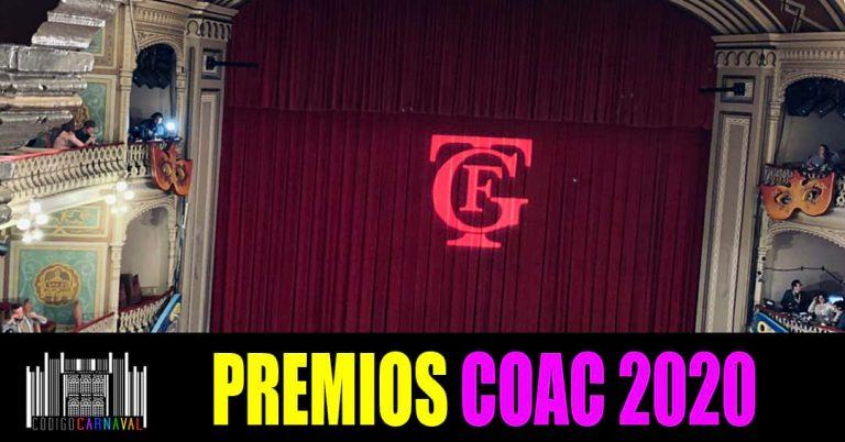 Premios COAC 2020