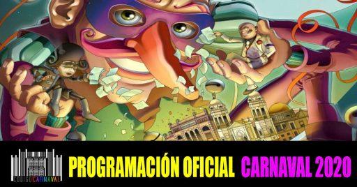 Programacion oficial carnaval de cadiz 2020