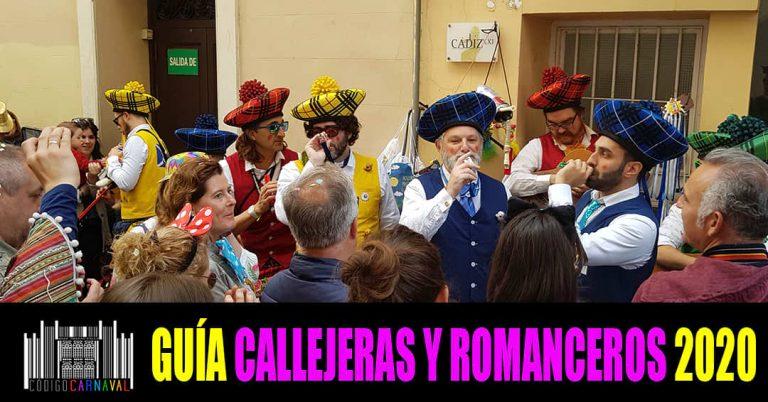 callejeras y romanceros 2020