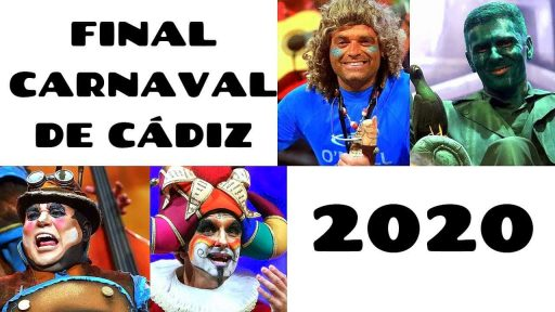 Final Carnaval de Cadiz 2020