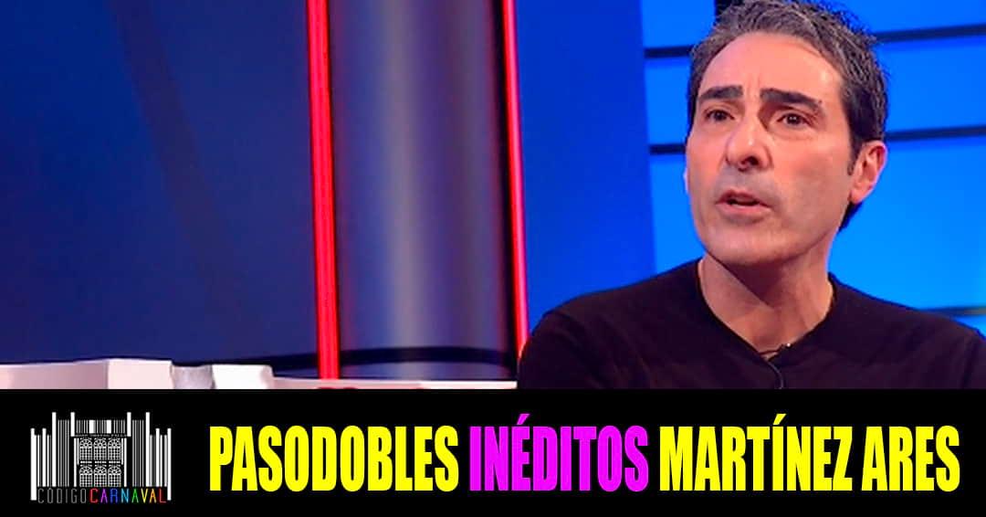 Pasodobles ineditos de Martinez Ares