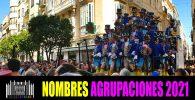 Nombres agrupaciones Carnaval 2021