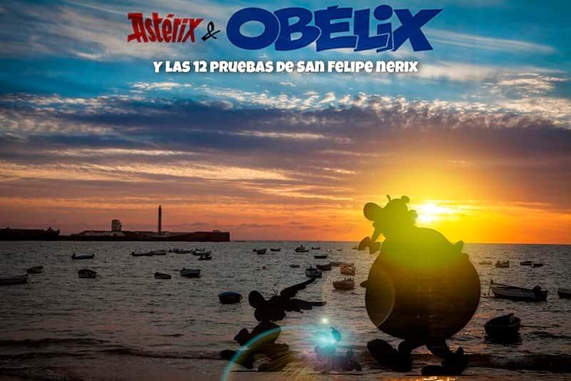 Asterix y Obelix y las 12 pruebas de San Felipe Nerix