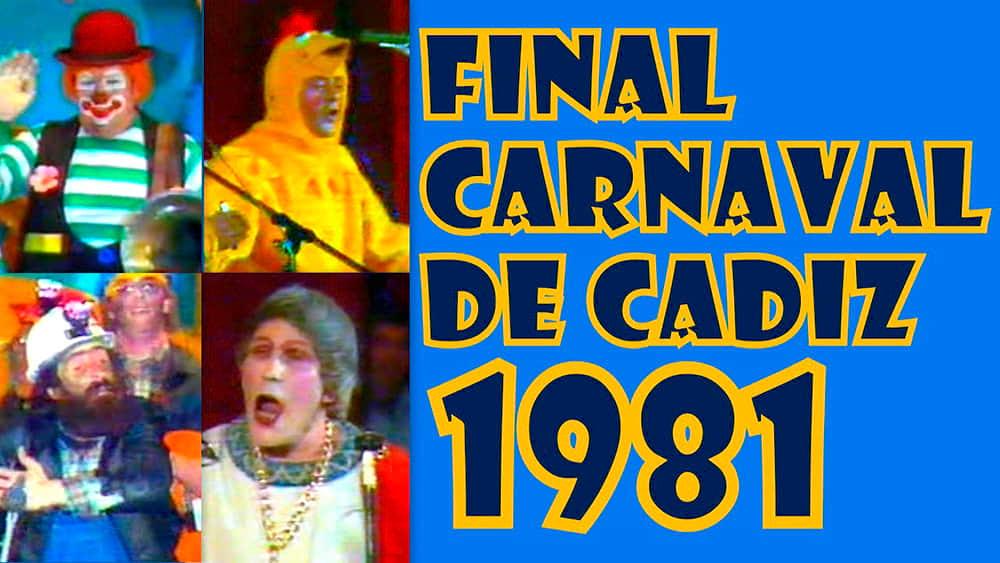 Gran Final COAC 1981