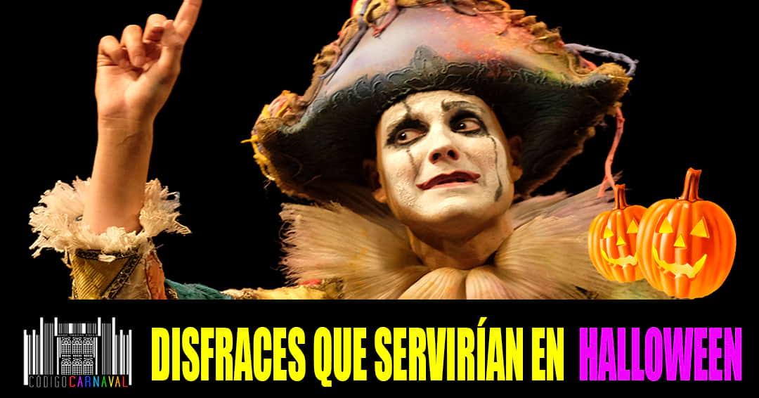 Agrupaciones del Carnaval de Cádiz para Halloween