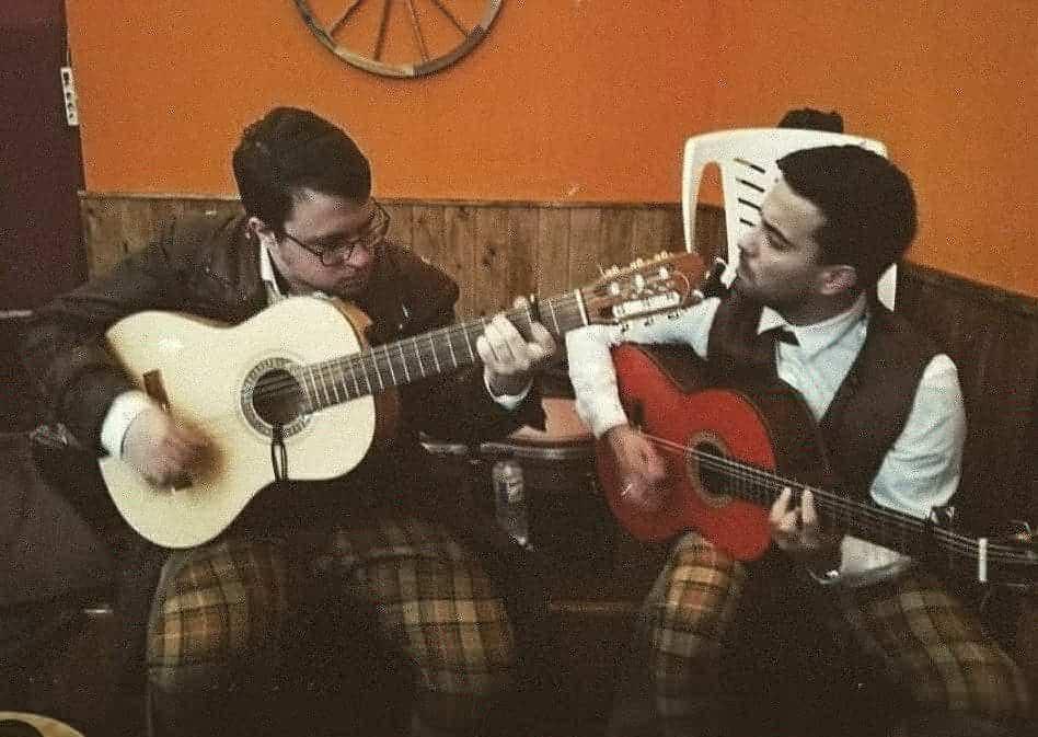 Juan Lazaro y Kike Jiménez