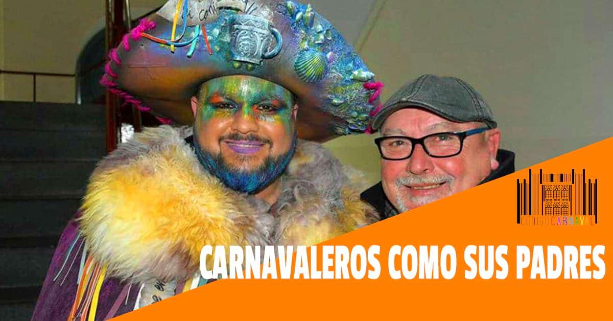 carnavaleros como sus padres